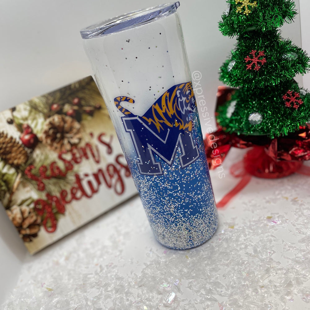Memphis tigers tumbler cup (read description)