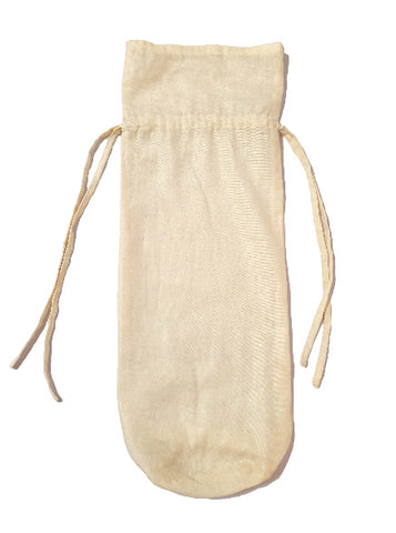 Muslin Cylindrical Bag (17x5 inches)