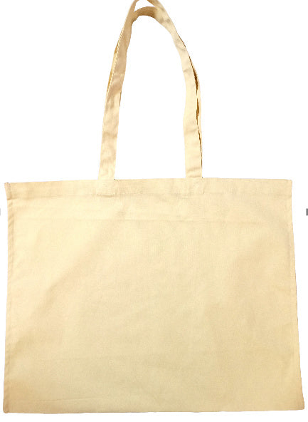 Canvas Horizontal Shopping Bag (19x19 inches)