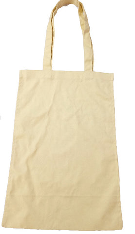 Canvas Vertical Shopping Bag (19 x 15 inches)