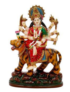 Handmade Goddess Durga Showpiece