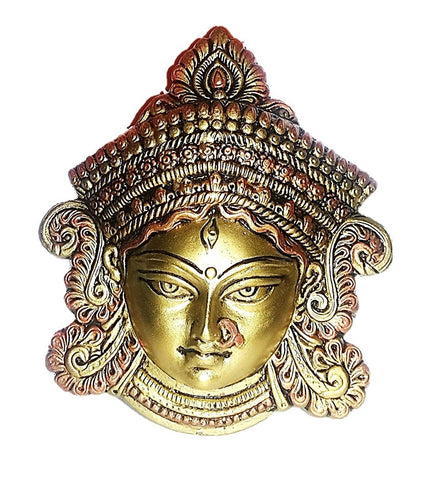Handmade Goddess Durga Face Showpiece