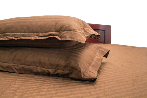 Fitted Bedsheet Brown Colour (King Size)