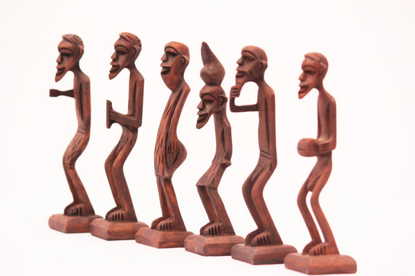 Handmade Tikki Men (Set of 6)