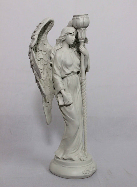 Handmade Gothic Angel Candle Stand (Set of 2)