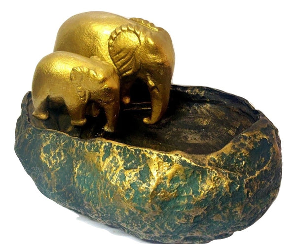 Handmade Elephant Uruli - A Traditional Handmade Decorative