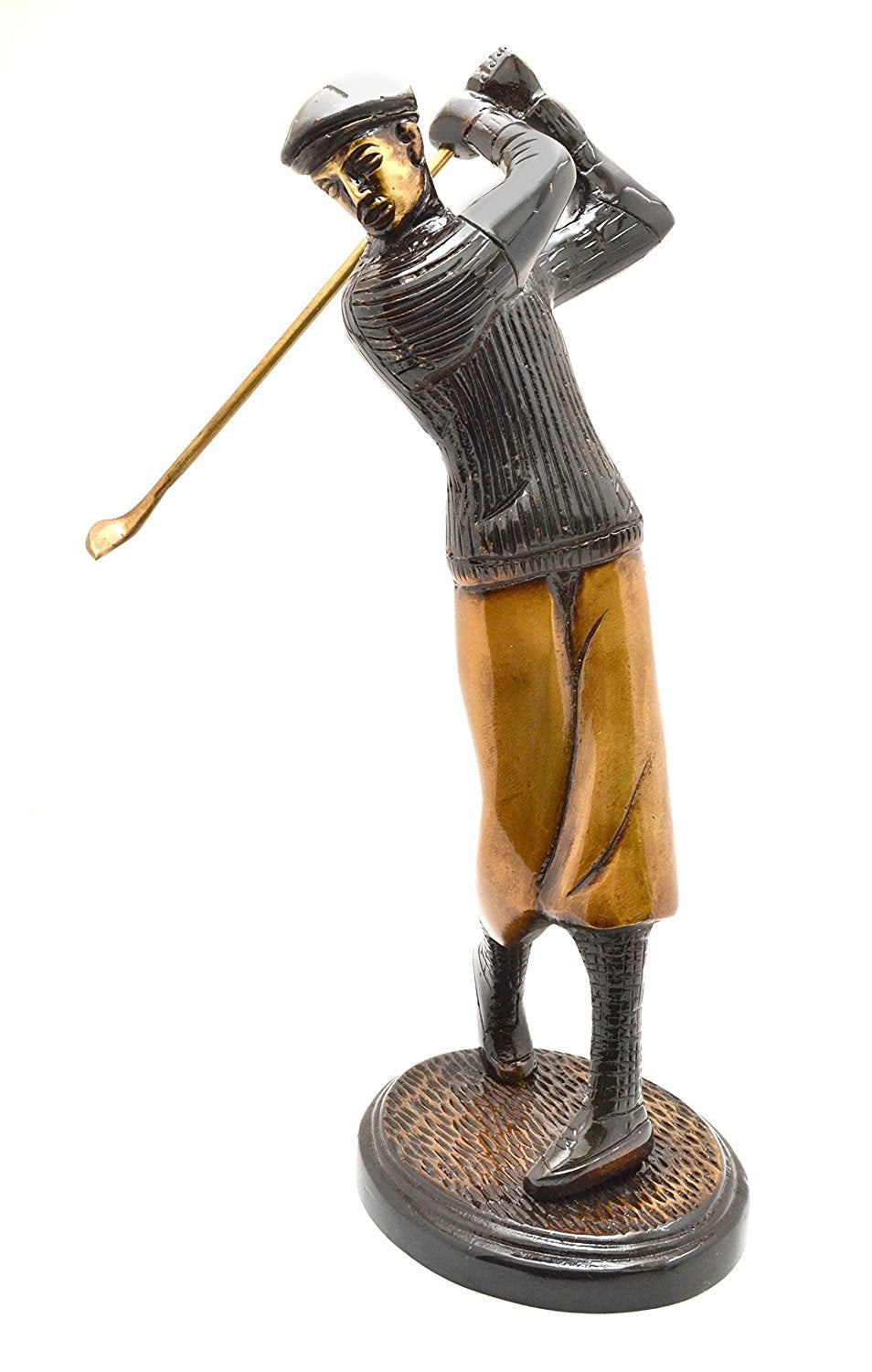 The Golfer Showpiece (Brown)