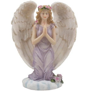 Handmade Angel Girl Kneeling & Praying