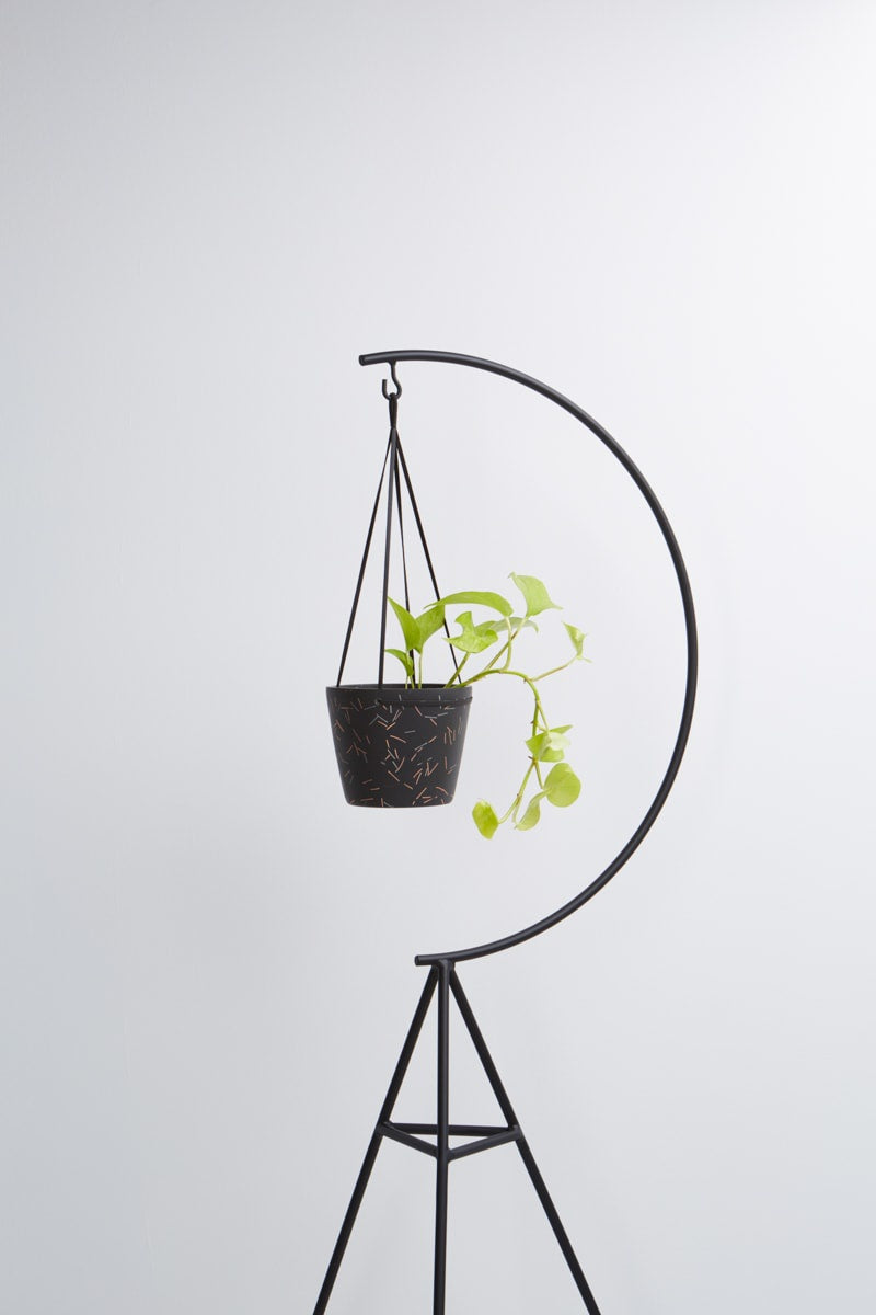 hanging pot in midnight match stick