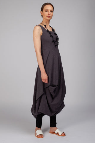 dogstar papershadow falls dress in charcoal stockroom kyneton