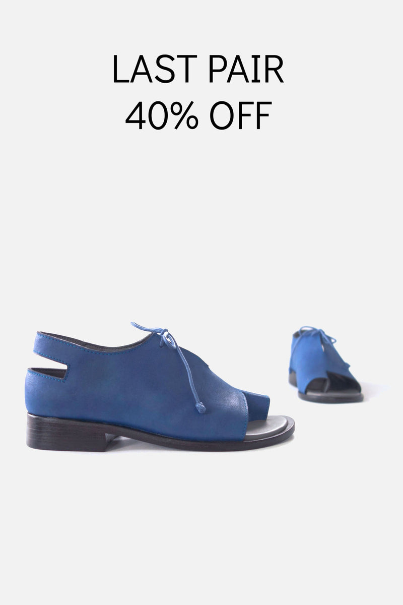 booker and co tuesday sandals in blue at stockroom