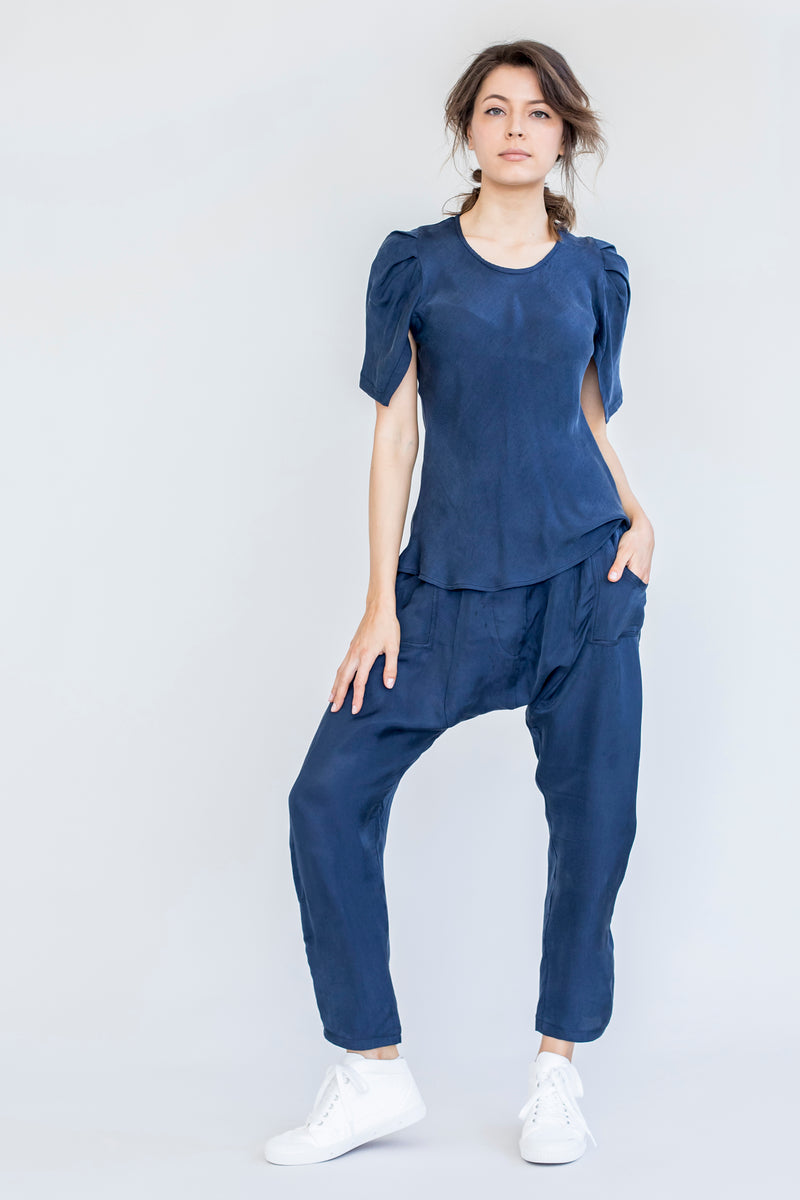 ella fashion therese top in blue at stockroom kyneton