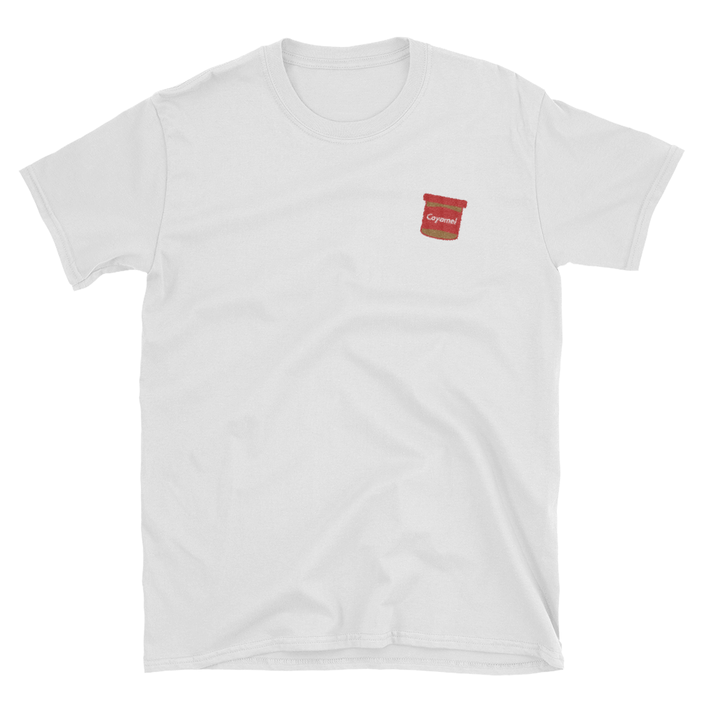 Embroidered Coyamel T-Shirt (white)
