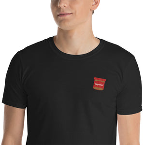 Embroidered Coyamel T-Shirt (black)