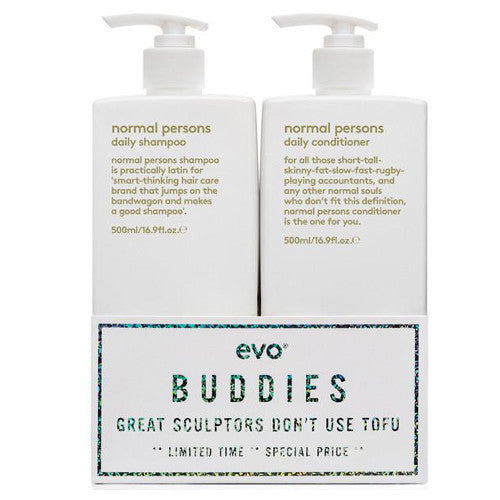 EVO Normal Persons Buddies [Shampoo & Conditioner]