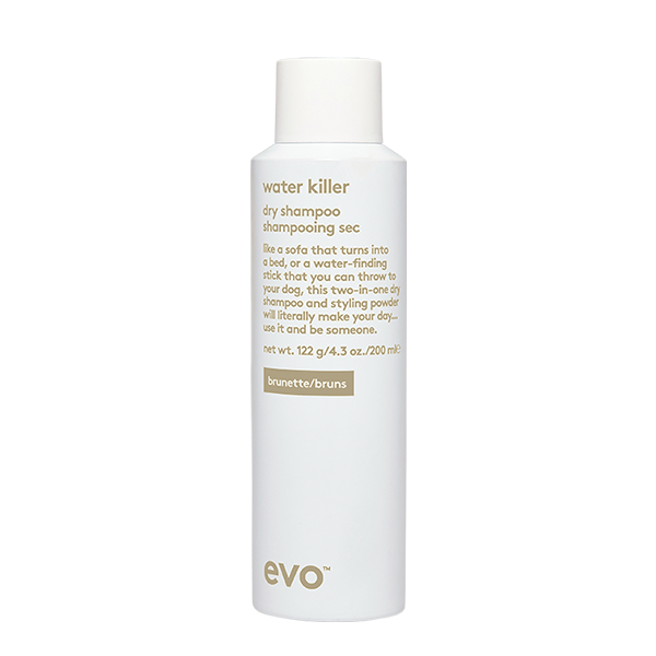 EVO Water Killer Dry Shampoo Brunette