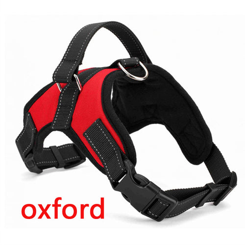 Red Dog Harness (Oxford) - dogs-over-everything