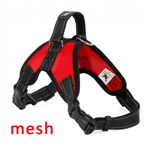 Red Dog Harness (Mesh) - dogs-over-everything