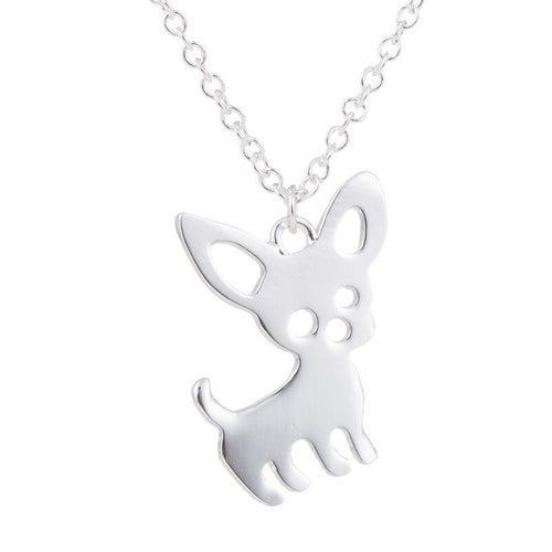 Cute Chihuahua Pendant Necklace - dogs-over-everything
