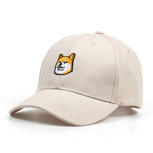 Beige Casual Dog Cap - dogs-over-everything