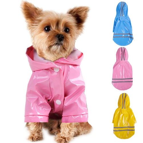 Raincoat Hoodie - dogs-over-everything