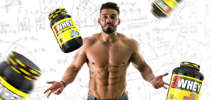 1Whey & 3Whey: Which whey protein should you use?