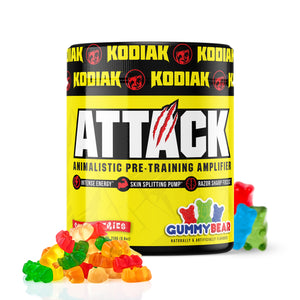 gummy bear intense pre workout
