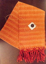 Load image into Gallery viewer, Rebozo - Orange Waves
