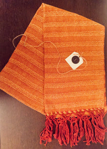 Rebozo - Orange Waves