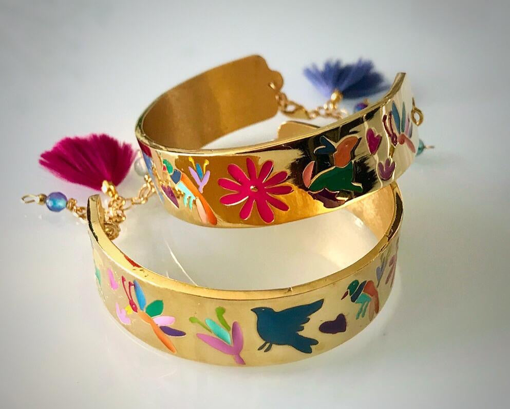 Bold Bracelet - Frida Kahlo collection