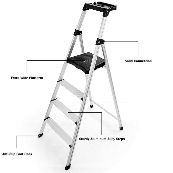 Step Ladder with Tray