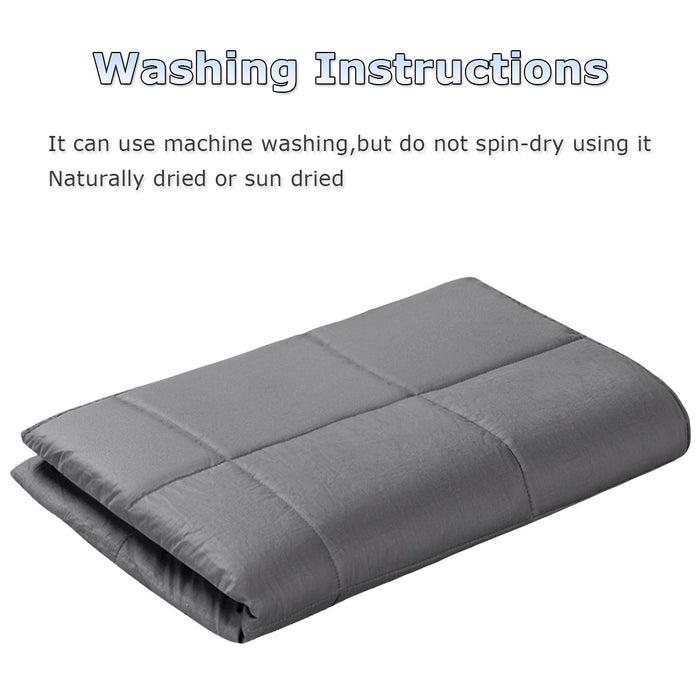 Large Premium Weighted Blanket 6.8kg