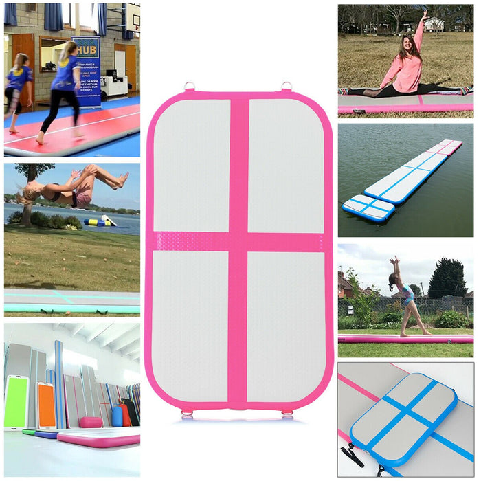 Inflatable Air Track Floor Mat with Pump