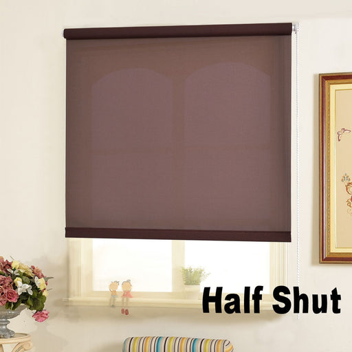 Semi Transparent Roller Blind with 4 Colors