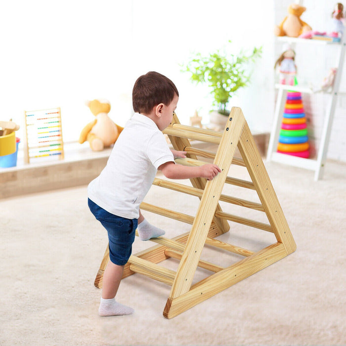 Wooden Climbing Ladder with 3 Difficulty Levels
