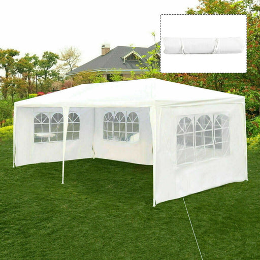 3 m x 6 m Garden Gazebo Party Canopy Tent Waterproof