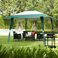 4 x 4m Garden Gazebo with 2 Tier Roof