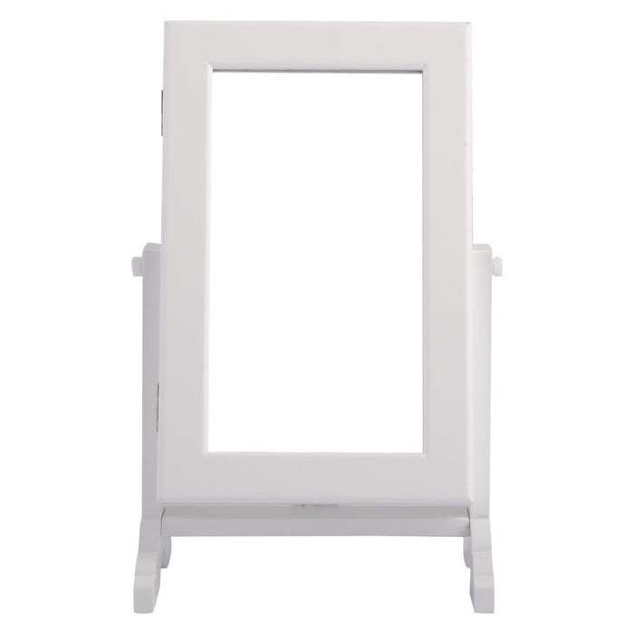 Jewellery Cabinet with White Vanity Mirror