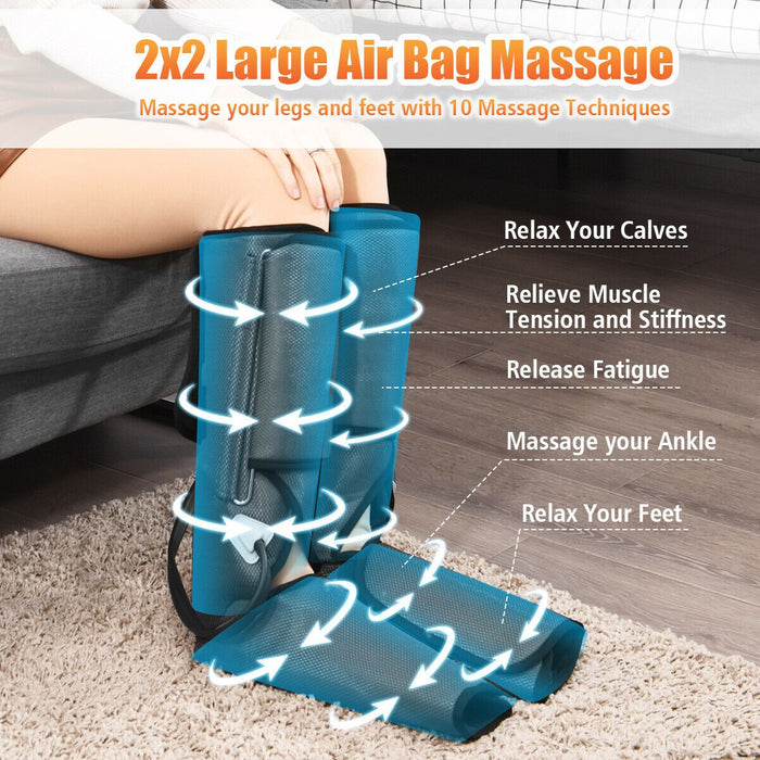 Air Compression Wrap Massager Controller 3 Modes 3 Intensities