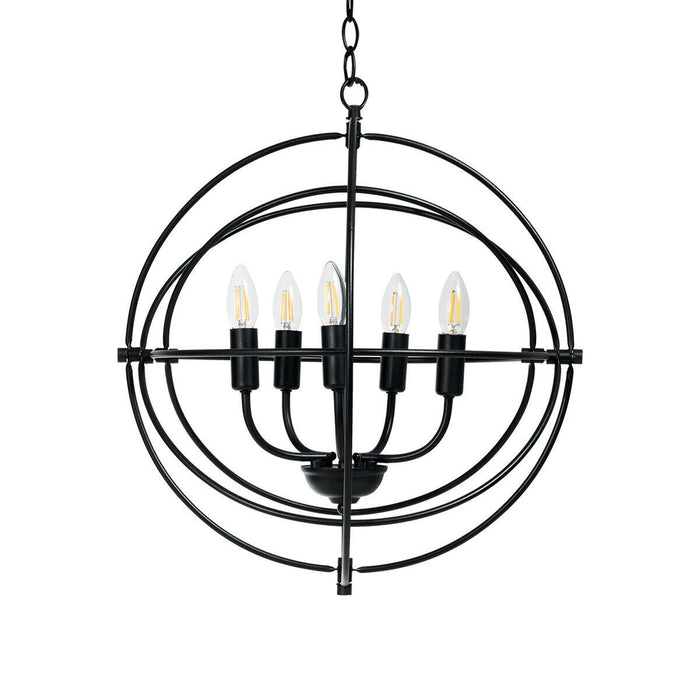 Industrial Vintage Style Lamp Hanging Chain Ceiling Chandelier