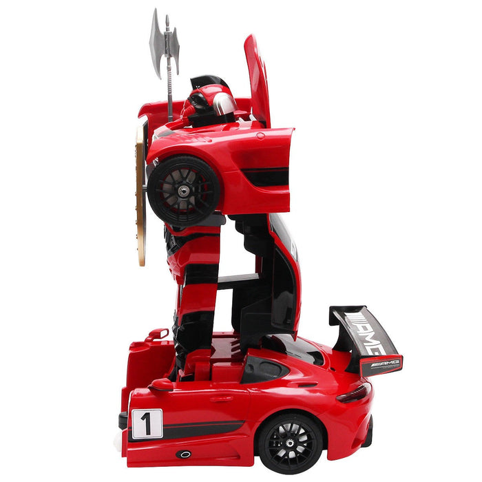 Remote Control Mercedes-Benz Transformer Robot Drifting Car
