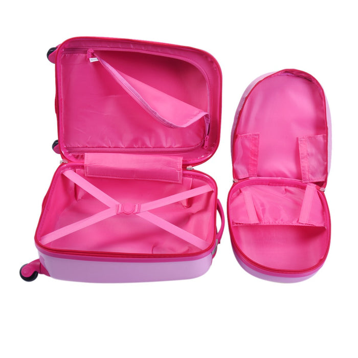 2 Piece Kids Backpack Luggage Traveling Suitcase