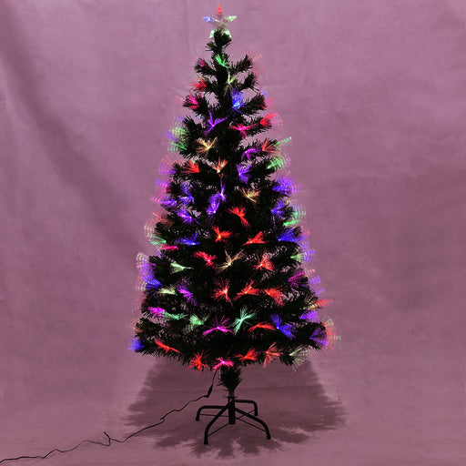 5ft Fibre Optic Christmas Tree with Top Star