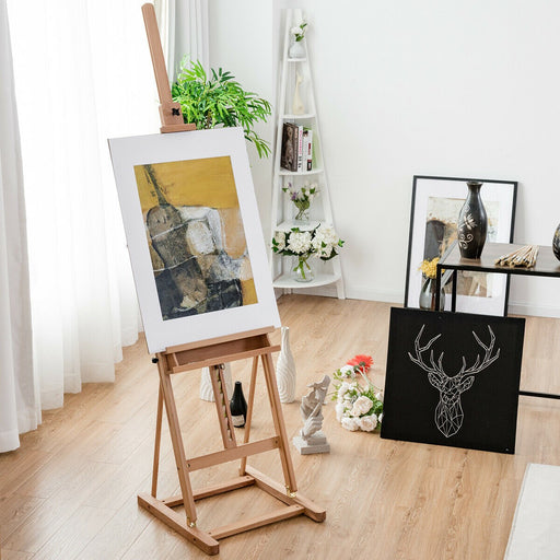 2.3 M Adjustable Height Craft Display Wooden Artist Easel