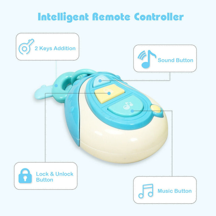 Learning Musical Remote Control Baby Walker