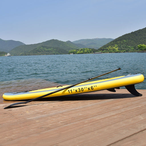 11ft GoPlus Inflatable Stand Up Paddle Board