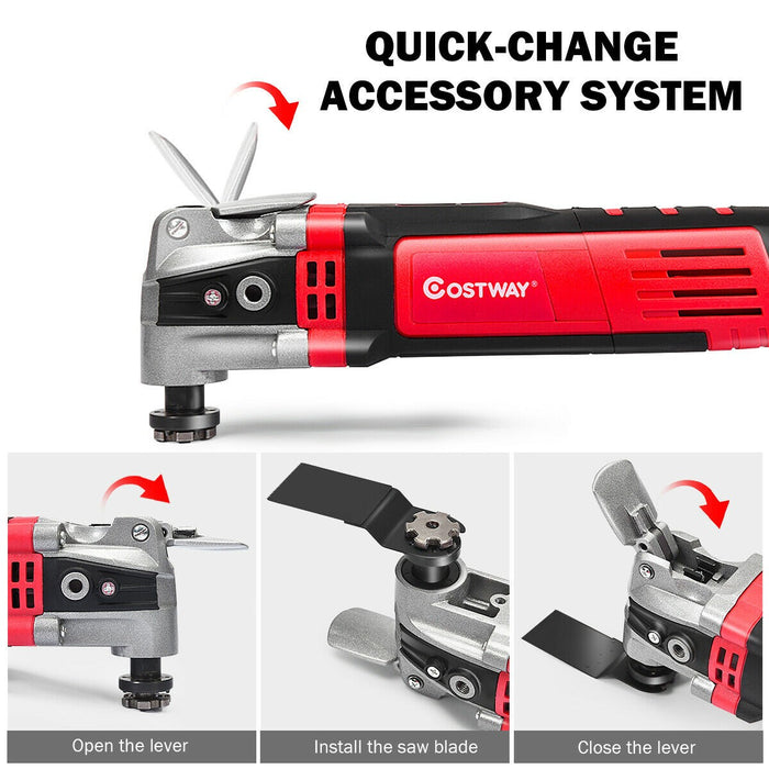 400W Electric Oscillating Multi Tool