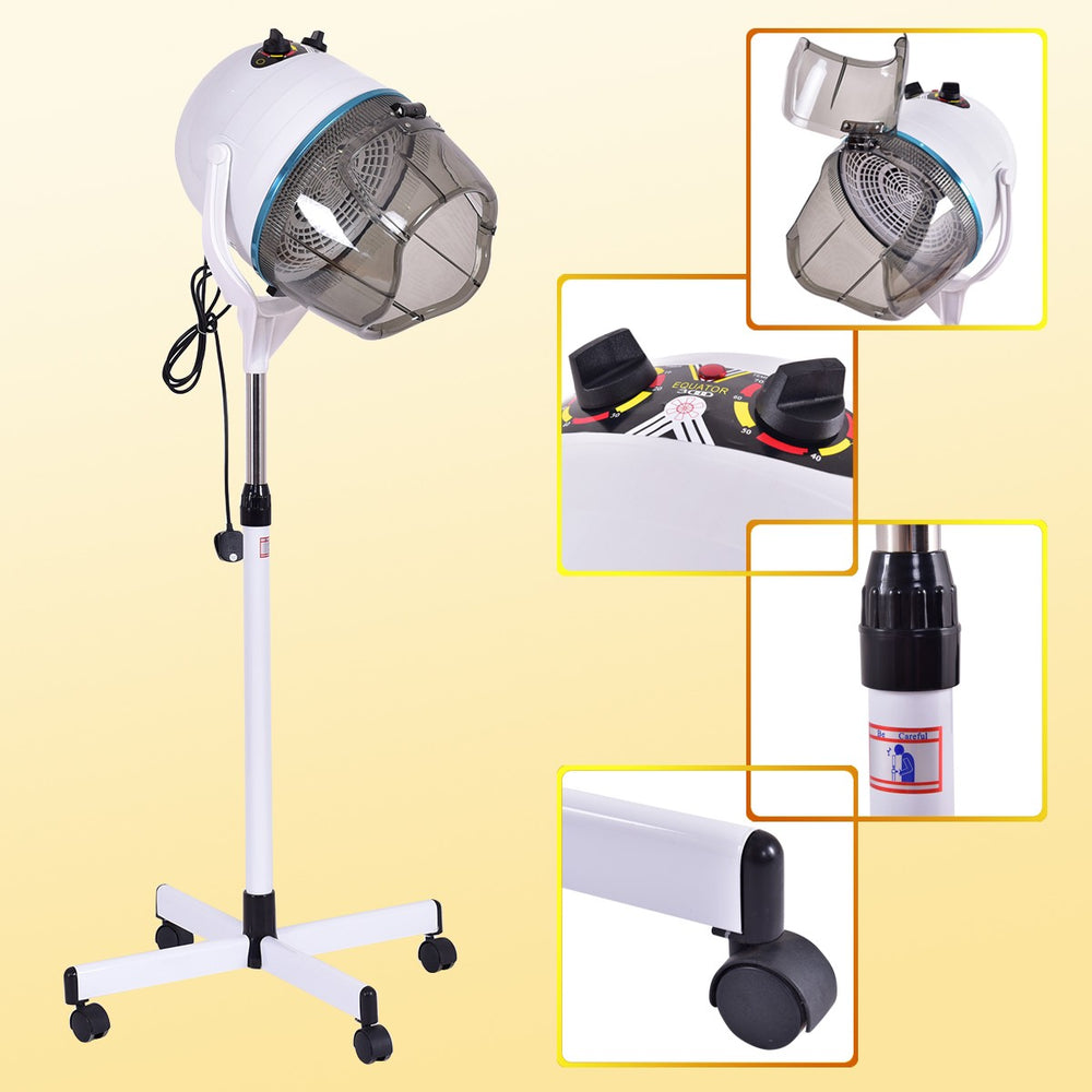 Professional Portable Hood Hairdryer with Stand