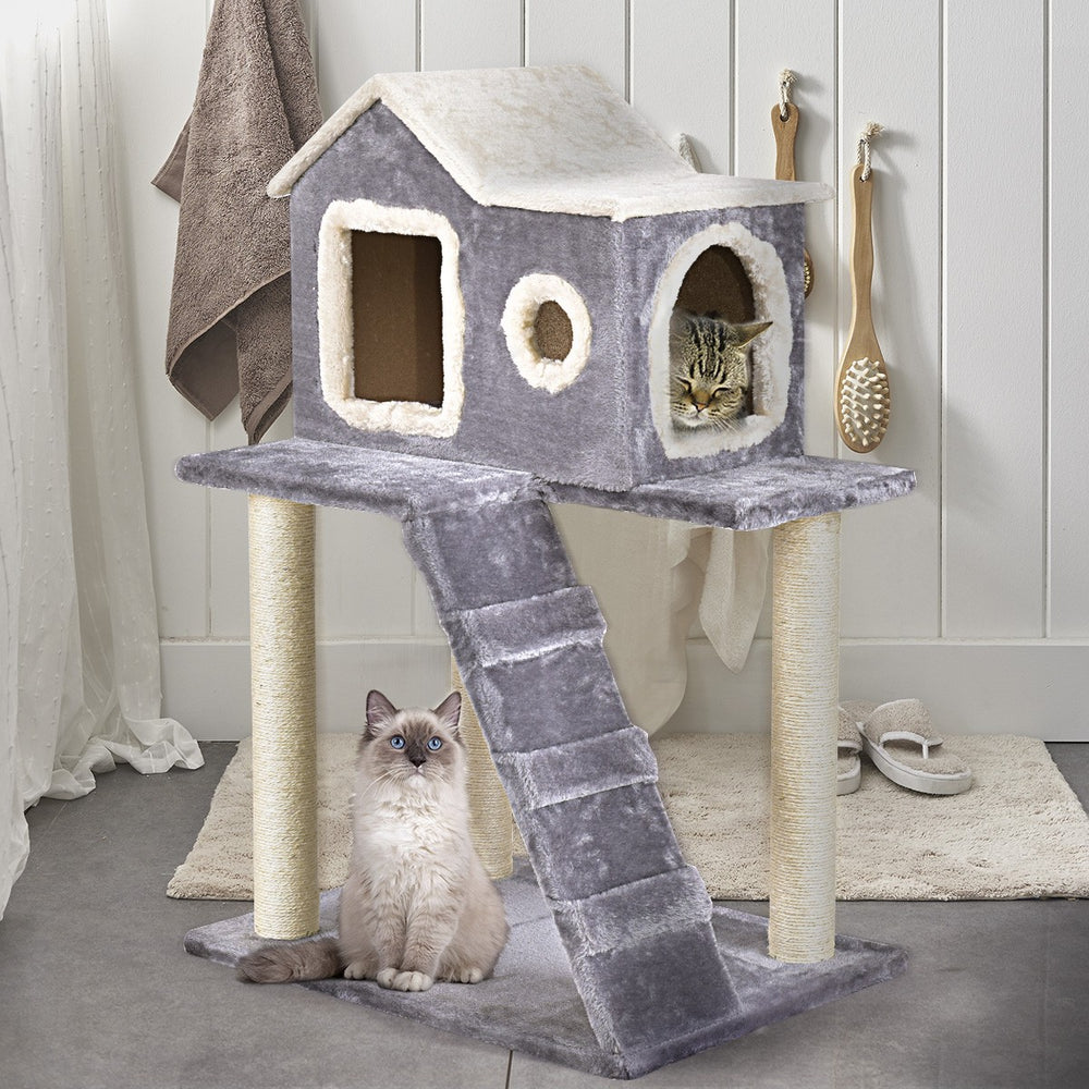 Cat Tree House and Scratching Post