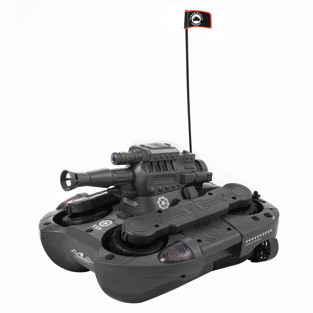 Remote Control Amphibious Tank with BB Cannon
